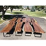 """2 Pack - (2"""" Wide - 1/4"""" Thick Metal) Square Metal Legs, Table Legs, Bench Legs, Legs, Industrial Modern, DIY"""