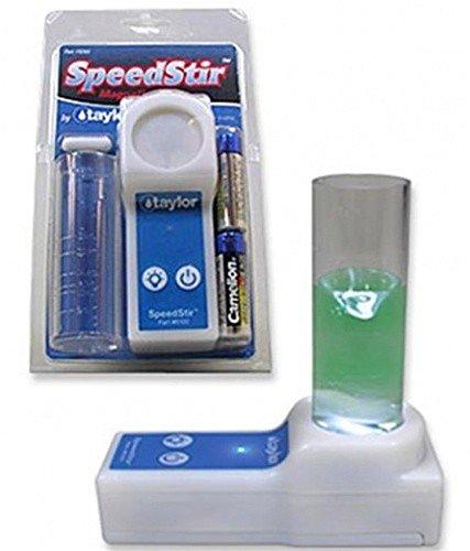 NEW Taylor 9265 Magnetic Stirrer Speedstir Start-Up Pack w/ Stir Bar + Batteries (Speed Stirrer)