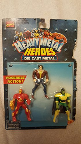 heavy metal heroes 3 pack