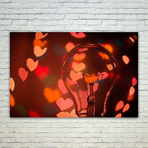 - Westlake Art Light Bulb - 12x18 Poster Print Wall Art - Modern Picture Photography Home Decor Office Birthday Gift - Unframed 12x18 Inch (463B-EE6B4)
