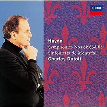 ハイドン:交響曲第82番「熊」&第83番「めんどり」&第85番「王妃」