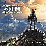 Books : Legend of Zelda: Breath of the Wild 2019 Wall Calendar