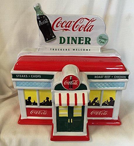 Coke Cookie Jar (Coca-Cola Diner Cookie Jar)