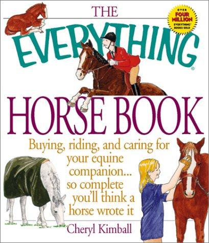 Everything Horse Book (Everything Series) pdf epub