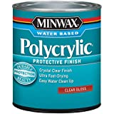 Minwax 65555444 Polycrylic Protective Finish Water Based, quart, Gloss