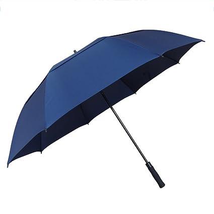 T.Kerry Mango Largo Paraguas Recto Golf Dos Capas Protección Solar Paraguas Creatividad De Moda
