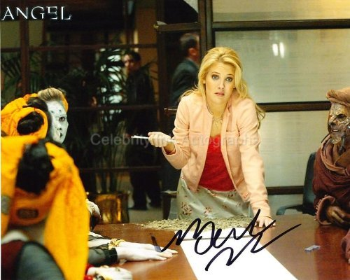 MERCEDES McNAB - as Harmony Kendall - Angel Genuine Autograph from Celebrity Ink