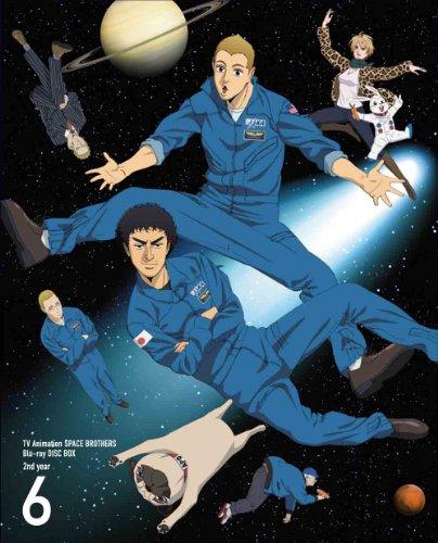 Animation - Space Brothers (Uchu Kyodai) Blu-Ray Disc Box 2Nd Year 6 (3BDS) [Japan LTD BD] ANZX-3871