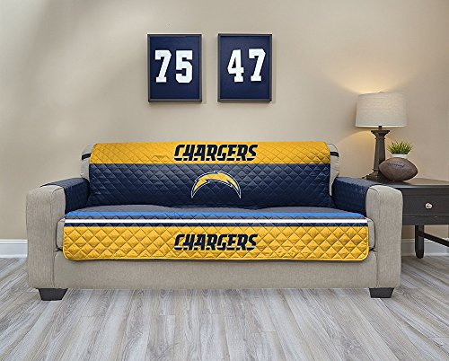 Pegasus Sports NFL San Diego Chargers Sofa Waterproof Furniture Protectors with -
