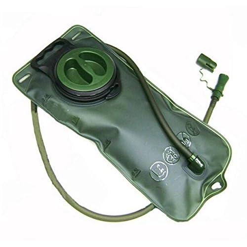2L vessie d'hydratation en vert système d'hydratation extérieure de sac d'eau d'hydratation pour les sacs à dos d'hydratation de la marque PRECORN