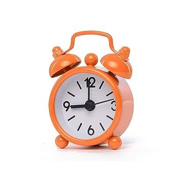 Despertador JXLBB Mini Reloj Creativo Estudiante Lado de la ...