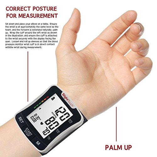 Slight Touch Digital Blood Pressure Monitor, ST-501