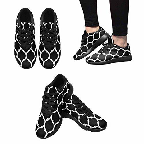 Interesse Marocchino Sfondo Delle Donne Jogging Corsa Sneaker Leggero Andare A Piedi Semplici Scarpe Multi 1