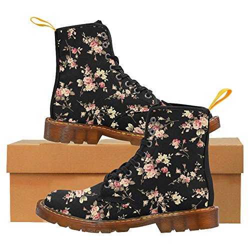 InterestPrint Womens Boots Unique Designed Comfort Lace Up Boots Multi 2 nnCwmZJ