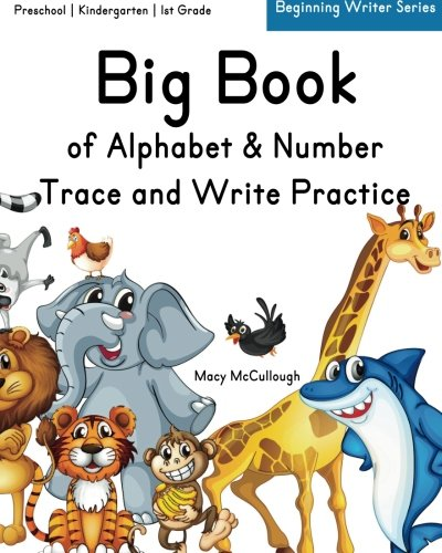 Big Book of Alphabet & Number Trace and Write - Macys Number