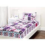 Zipit Bedding Set, Rock Princess - Twin by Zipit Bedding