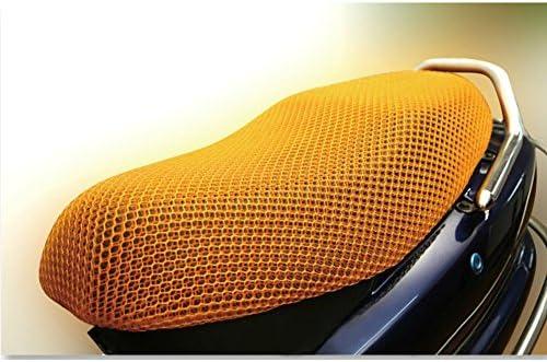 Motorrad Motorradschutz Sitzbez/üge Netzstoff Netzgewebe f/ür Motorr/äder 3D GeKLok Gel-Fahrradsitzbezug Atmungsaktiv strapazierf/ähig Atmungsaktiv wasserdicht f/ür Roller Rutschfest
