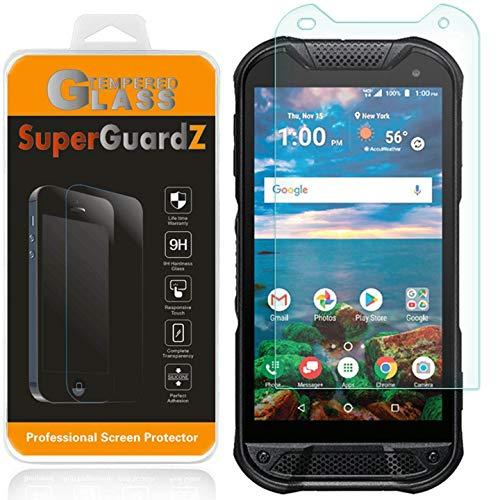 [3-Pack] for Kyocera DuraForce Pro 2 (2nd Gen) Screen Protector Tempered Glass, SuperGuardZ, 9H, 0.3mm, Anti-Scratch, Anti-Bubble, Anti-Fingerprint [Lifetime Replacement] (Replacement Screen Phone Kyocera)