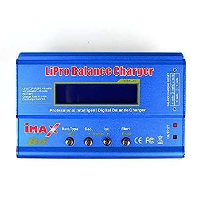 DLFPV® iMAX B6 Intelligent Multifunction Balance Charger Microprocessor Controlled in Delta-peak Sensitivity