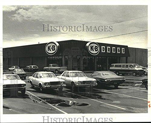 1979 Press Photo New Katz & Besthoff Drug Store in Magnolia Shopping Center - 8 x 10 in. - Historic - Stores Shopping Center Magnolia