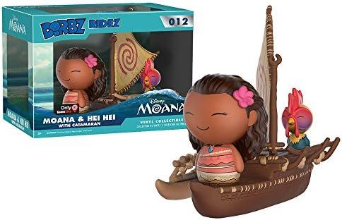 Funko - Figurine Disney Moana - Vaiana & Hei Hei Catamaran Dorbz Ridez 18cm - 0889698117982: Amazon.es: Juguetes y juegos