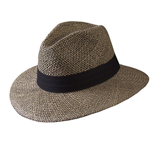 [Turner Hat Men's Safari Sunshield Hat SM Straw] (Straw Safari Hat)