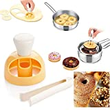 Donut Cake Mould with Dipping plier, DIY Doughnut