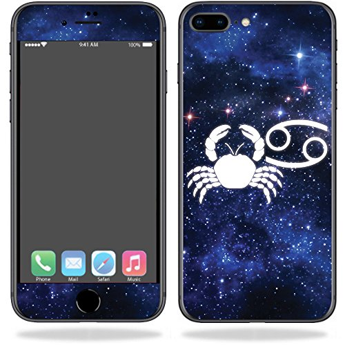 MightySkins Skin Compatible with Apple iPhone 8 Plus - Cancer | Protective, Durable, and Unique Vinyl Decal wrap Cover | Easy to Apply, Remove, and Change Styles | Made in The USA