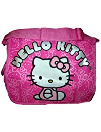 Hello Kitty Pink Large Messenger Bag Tote purse NEW