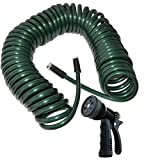 Plastair PUW850WN4H-AMZ Polyurethane Lead Free Drinking Water Safe Recoil Garden Hose