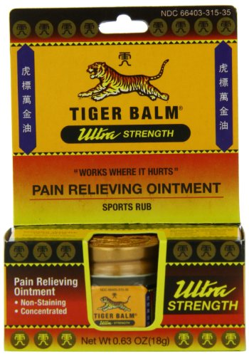 Tiger Balm Ultra Strength 0.63 oz (Pack of 2) by Tiger Balm