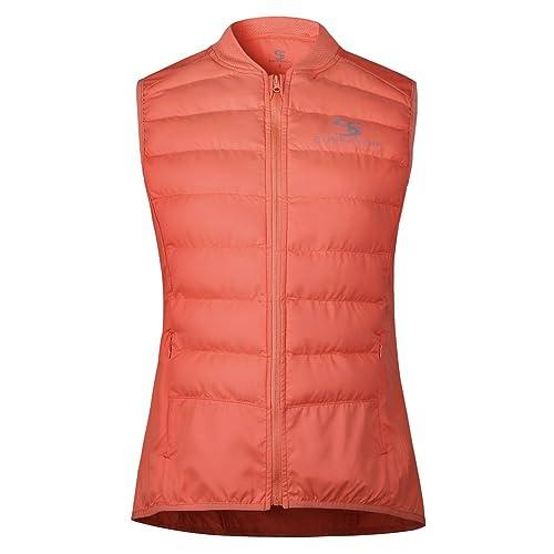 Sunfavor - Chaleco - chaqueta guateada - para mujer