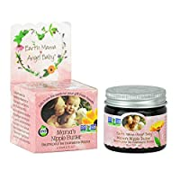 Natural Nipple Butter Organic Breastfeeding Cream (2 Fl. Oz.)