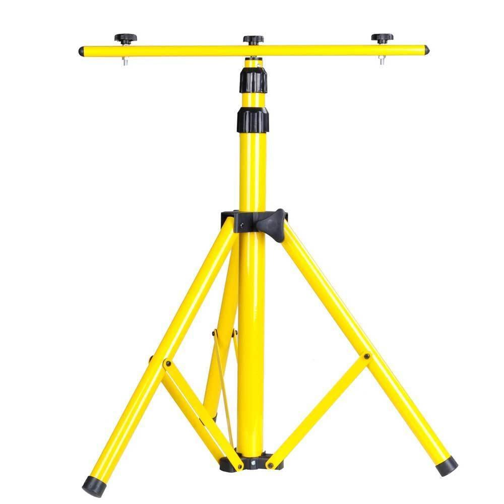 Tripod Stand W/T Bar For LED Flood Light Camp Construction Site Work Lighting