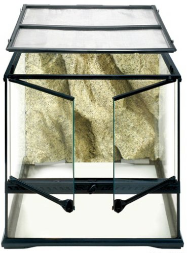 Exo Terra Glass Terrarium, 18 by 18 by 18-Inch