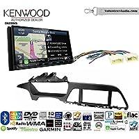 Volunteer Audio Kenwood Excelon DNX994S Double Din Radio Install Kit with GPS Navigation Apple CarPlay Android Auto Fits 2015-2017 Hyundai Sonata