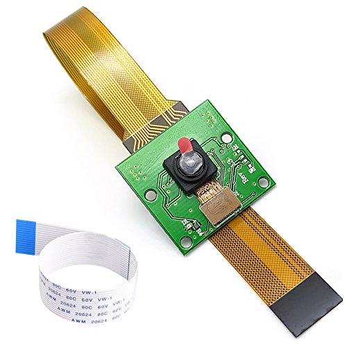 Amadget for Raspberry Pi Camera Module 5MP 1080p + 15cm Pi Zero Ribbon Cable, Webcam for Raspberry Pi Model A/B/B+, Pi 2 and Raspberry Pi 3, Pi Zero/Zero W