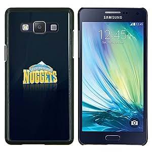 Qstar Arte & diseño plástico duro Fundas Cover Cubre Hard Case Cover para Samsung Galaxy A5 A5000 (Nugget Equipo)