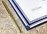 12 Pack Certificate Holders, Diploma and Document