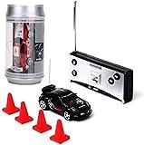 Saffire Mini Coke Can Speed RC Radio Remote Controlled Micro Racing Car, Multi Color