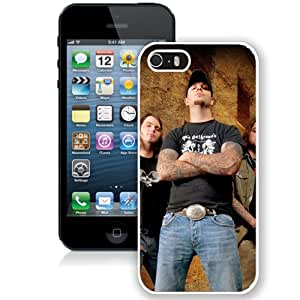 Beautiful Designed Cover Case With The Autumn Offering Tattoo Street House Net (2) For iPhone 5S Phone Case
