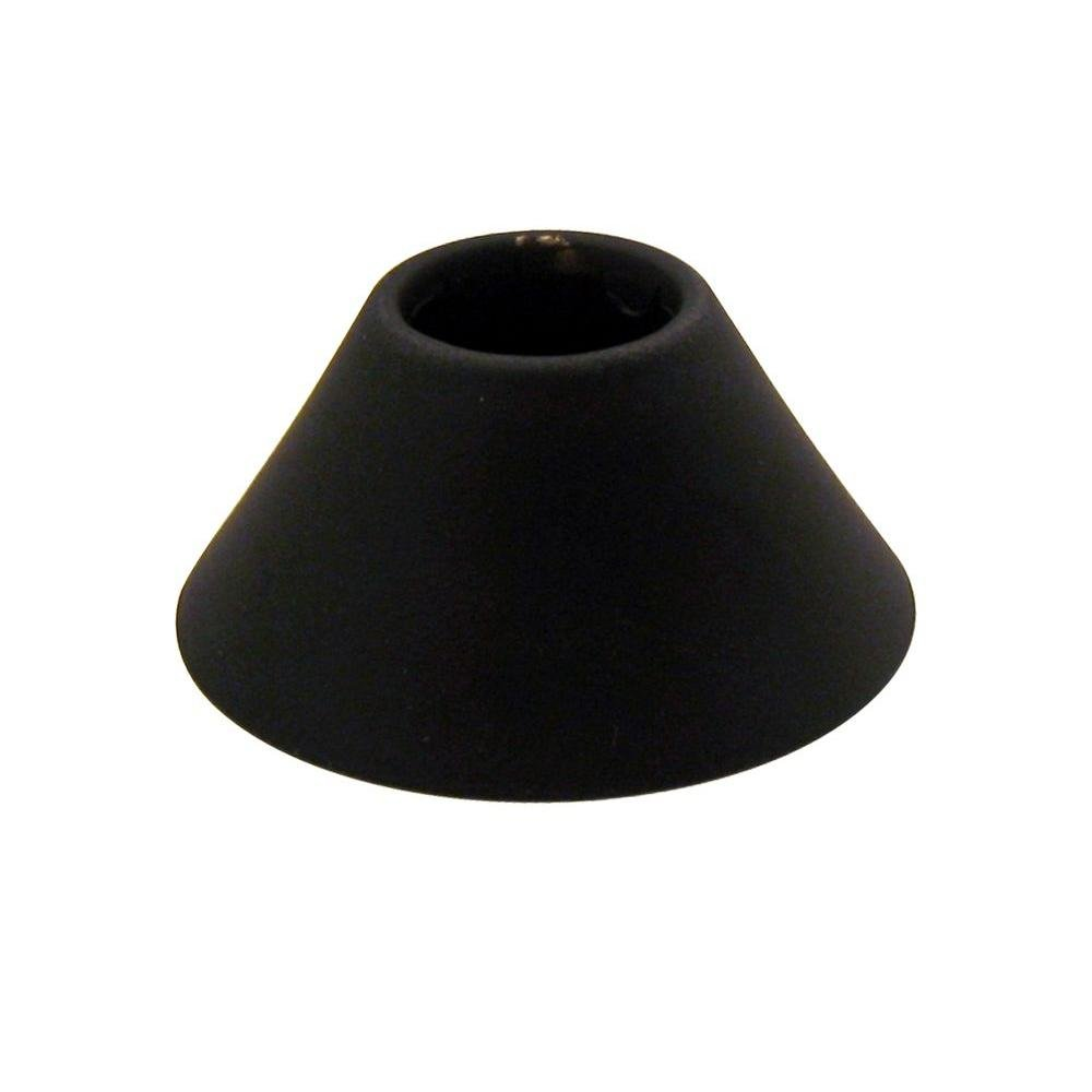 Westbrass BELL1ORB Elizabethan Classics 1/2'' Solid Brass IPS Bell Flange, Oil Rubbed Bronze