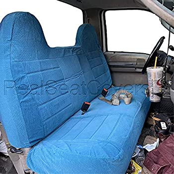 Tremendous Realseatcovers For Pickup Front Solid Bench Thick F23 Realseatcoverss High Back Belt Cutout Custom Made Seat Cover For 1992 2010 Ford F Series F150 Machost Co Dining Chair Design Ideas Machostcouk