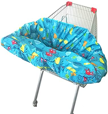 Fodable Baby Shopping Cart Cover High Chair Cushion Dining Chair Cover
