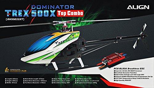 ALIGN RH50E22XW T-REX 500X TOP Combo