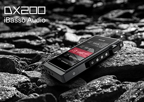 iBasso DX200 High Resolution Reference Audio Player include