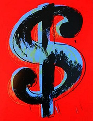 ry Dollar Sign by Andy Warhol ()
