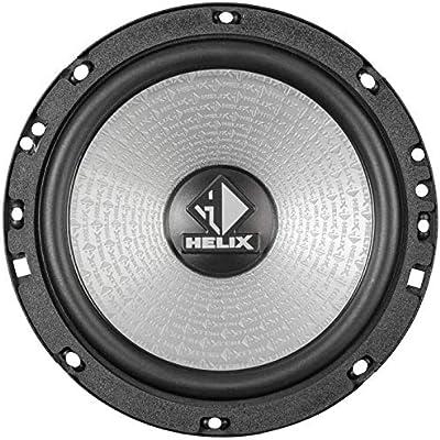 JUST SOUND best choice for caraudio Ground Zero GZIC 16X 16cm Lautsprecher System Einbauset f/ür Ford Fiesta MK7 Front Heck