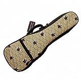 MUSIC FIRST cotton Vintage Style''Fortune Cats (Maneki Neko)'' Ukulele case ukulele bag ukulele gig bag (21 inch Soprano, Fortune Cats)