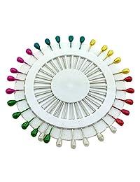 Ababalaya (Pack of 30) Women's Safety Pin Scarf Hijab Pin Brooch Straight Head Pins